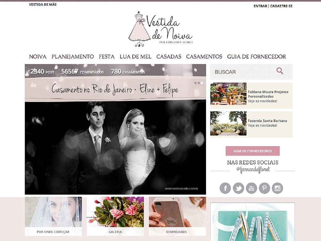 Blog de Casamento Vestida de Noiva