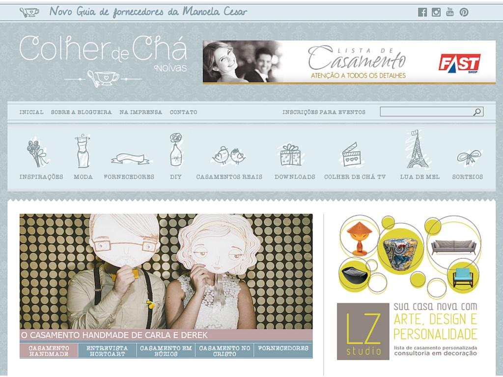 Blog de Casamento Colher de Chá Noivas