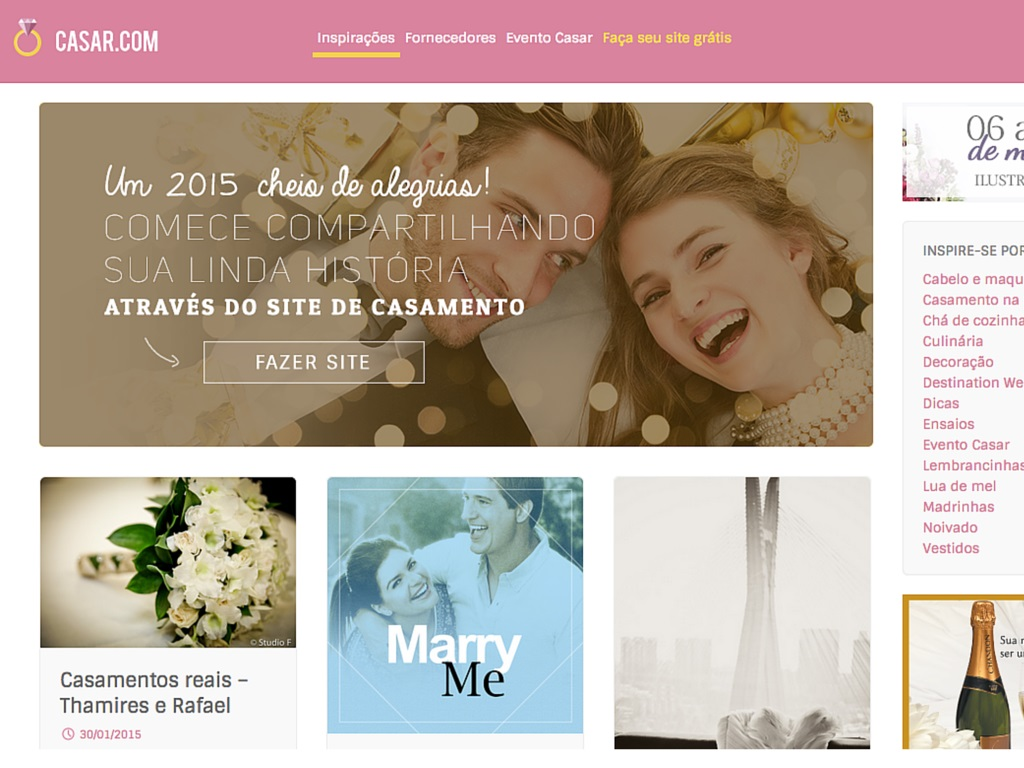 Blog de Casamento – os 10 melhores que você precisa ler