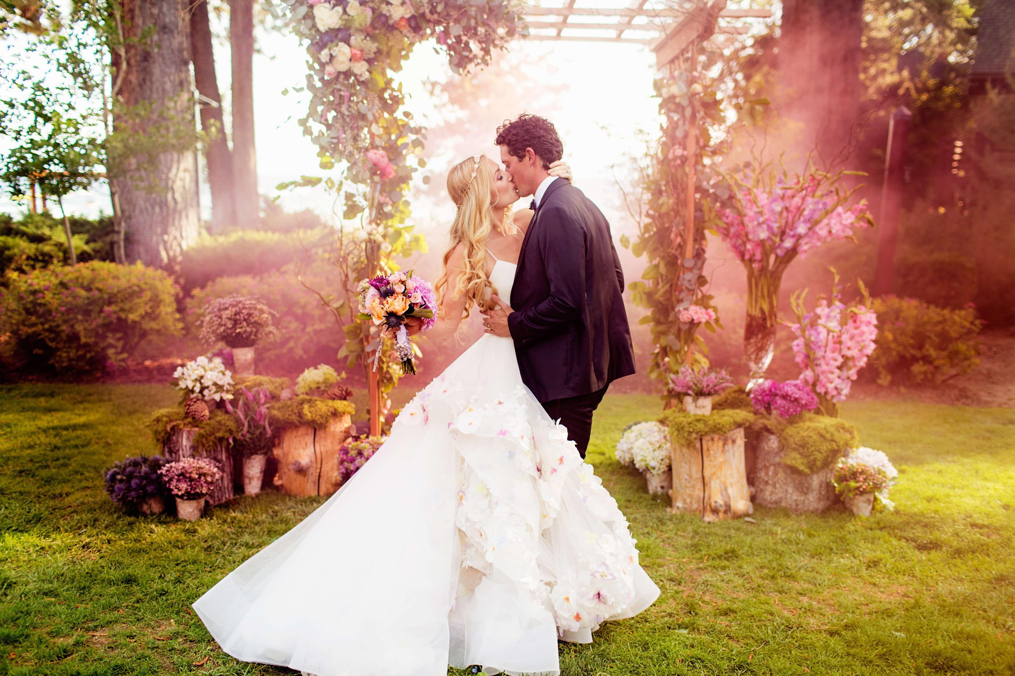 festa de casamento perfeita