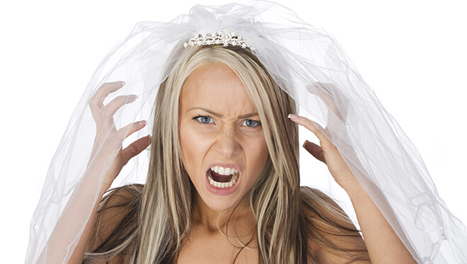 stress antes do casamento