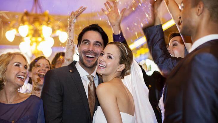animar uma festa de casamento