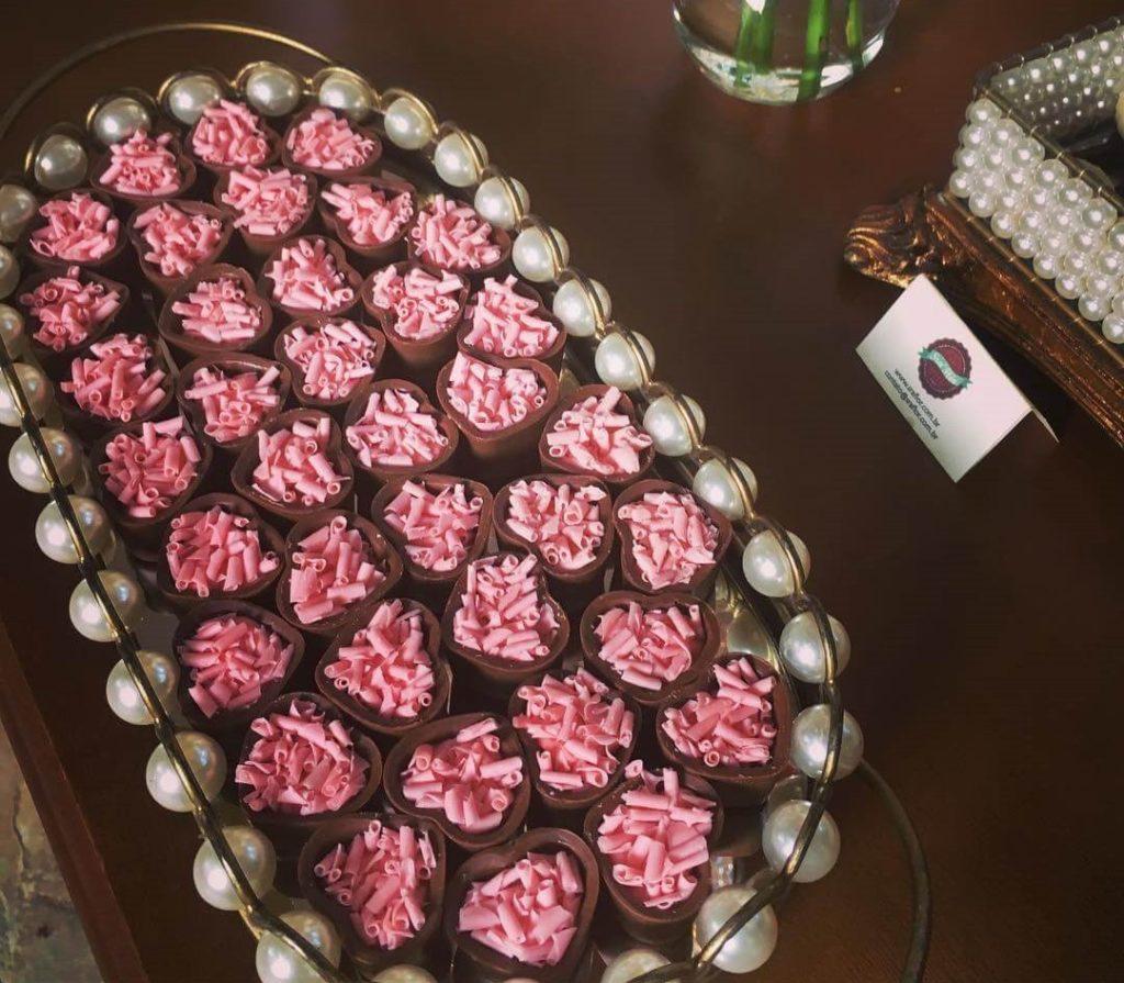 doces finos para casamento frutas vermelhas