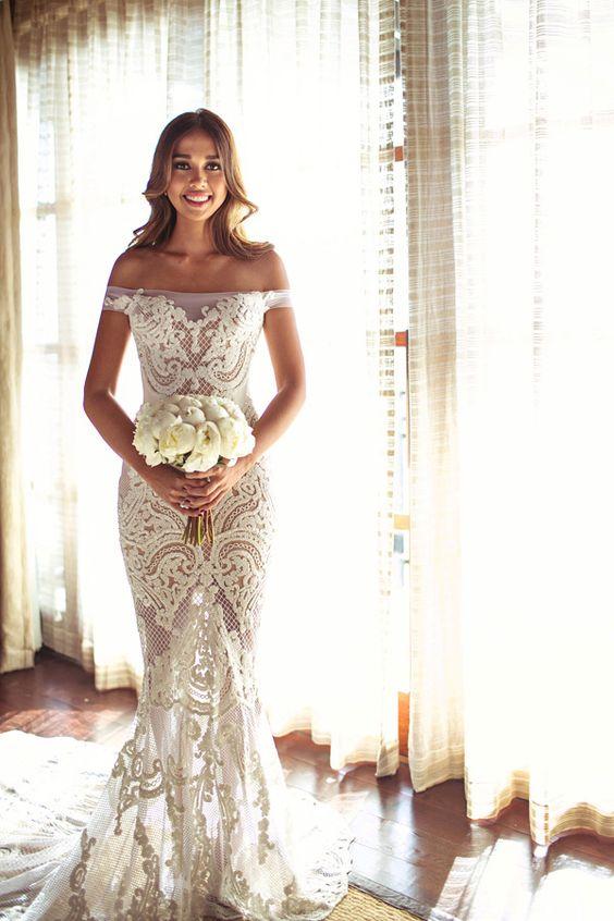 Casamento Na Praia 30 Modelos De Vestidos De Noiva Incr 237 Veis